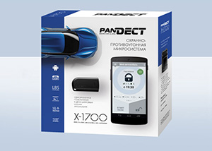 Установка автосигнализации Pandora  Pandect